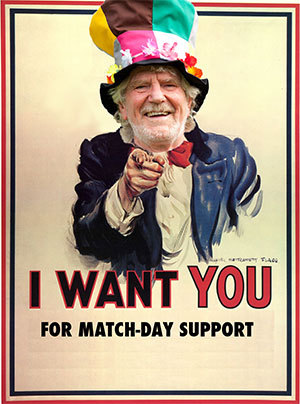 Match Day Support Poster
